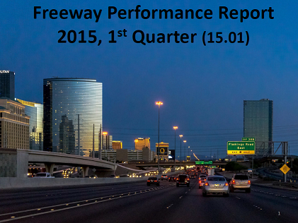 Freeway Performance Report for NDOT 2015 Q1