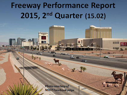 Freeway Performance Report for NDOT 2015 Q2