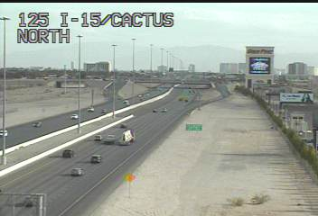 Las Vegas Traffic Cameras - I-15 South (Blue Diamond to Primm)
