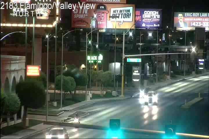 Las Vegas Traffic Cameras - Valley View Blvd